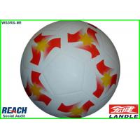 Wholesale White Size 1 Size 2 Size 3 Size 4 Training Footballs , CMYK Full Printing from china suppliers