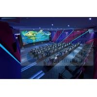 Wholesale 3.75KW 5D Movie Theater For Fun Ride Roller Coaster Simulator Commercial Amusement Park from china suppliers