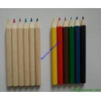 Wholesale half size colored pencil for kids gift set,school children pencil sets from china suppliers