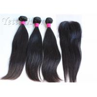 Wholesale 18 Inches 8A Brazilian Human Hair Extensions / Smooth Real Virgin Hair weaving from china suppliers