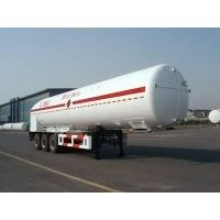 Wholesale 43000L-3 axles-Cryogenic Liquid Lorry Tanker for LNG from china suppliers