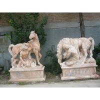 Quality marble animal sculpture with nature stone for sale