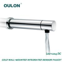 Wholesale OULON cold Wall-Mounted integrated sensor faucet Leo1204DC from china suppliers
