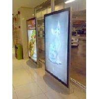 Buy cheap White Indoor Dot LED Slim Light Box SMD2724 P4 AC 220V / 50Hz 32 x 32 62500(dot/m2) 1R1G1B from wholesalers