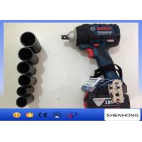 Wholesale Adjustable 18V Electric Torque Impact Wrench , Rechargeable Wrench For M6- M16 from china suppliers