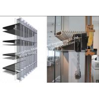 Wholesale Double Glass Wall Ventilated Facade Office Building Glass Curtain Wall Stick Built System from china suppliers