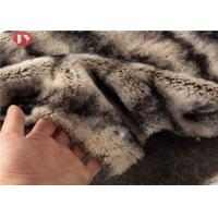 Wholesale Gray Two Tone Faux Fur Fabric Sewing Costume Shag Fluffy Fur Imitation 900gsm from china suppliers