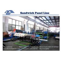 Wholesale Galvanized Steel PU Sandwich Production Line Automatic Cooling System from china suppliers