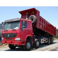 Wholesale Euro II Emission Standard Heavy Duty Trucks , Medium Duty Dump Truck from china suppliers