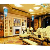 Wholesale Villa Luxury Decor Remote Control Modern Electric Fireplace Heater  Adjustive Flame from china suppliers
