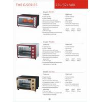Wholesale Toaster oven in home appliance Kitchen convection Vertical  toaster oven GK-T0-34K from china suppliers