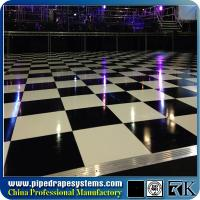 Wholesale high quality square wood dance floor for outdoor events from china suppliers