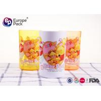 Wholesale Break Resistant Plastic Childrens Mugs Without Holder 270Ml Round Shape from china suppliers