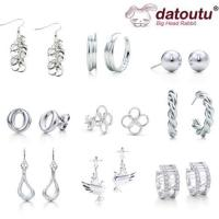 Buy cheap Wholesale Tiffany 925 Sterling Silver Jewelry-Earrings-Imitation Jewelry from wholesalers