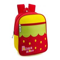 Wholesale Strawberry Waterphoof Kids School Backpacks With Water Bottle Holder from china suppliers