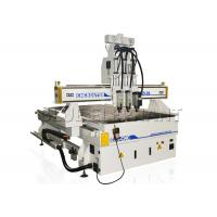 Wholesale ELE 1325 Pneumatic System Three Spindle Wood Cnc Router Machine For Door Making from china suppliers