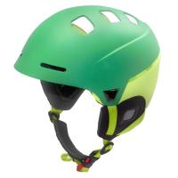 Wholesale Matt Green snow and rock ski helmet for winter outdoor sports from china suppliers