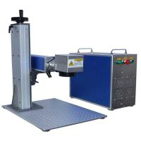 Wholesale Fiber laser marking machines/new marking solutions for steel/gold/silver /Widely used laser printing machine on metal from china suppliers