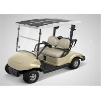 Quality Solar Energy 48V Battery Electrical Golf Carts 2 Seater With 3KW DC Motor for sale