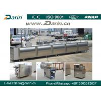 Wholesale Stainless Steel Cereal Bar Making Machine , Snack Cutting Machines For  Sesame Bar from china suppliers