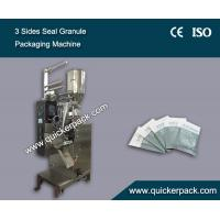 Wholesale Automatic Three Sides Seal Bag White Sugar Granule Packaging Machine from china suppliers