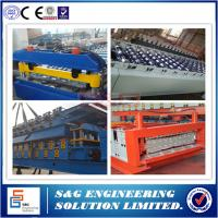 Wholesale Anti - rust Double Layer Roll Forming Machine With 18 Groups Stations from china suppliers