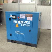 Wholesale 7.5KW 10HP dircect driven 116psi 42cfm low noise air cooling screw air compressor from china suppliers