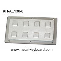 Wholesale IP65 8 Keys Industrial Rear Panel Mount Number Keypads Stainless Steel from china suppliers