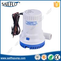 Quality Sailflo factory price12/24V  2000GPH non- auto submersible boat bilge pumps for marine yachat for sale