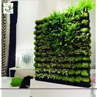 Wholesale UVG GRW02 Vertical Green Wall wholesale fake plants meeting room landscaping from china suppliers