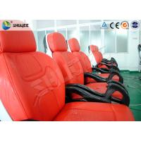 Wholesale Business Center 5D Cinema Equipment With Safety Chair / Push Back Function from china suppliers
