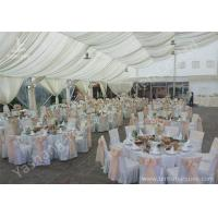 Wholesale Full Line Outdoor Aluminium Frame Wedding Tents Different Lining and Lighting Options from china suppliers