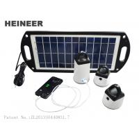 Wholesale Heineer M8 Portable Solar Lighting Series,mobile charger with 8W solar panel from china suppliers
