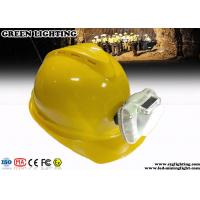 Wholesale Cool White Cordless LED Mining Cap Lamp 13000 Lux Brightness Anti - Explosive from china suppliers