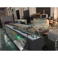 Quality 6 Cavities Corner Bead PVC WPC Profile Extrusion Line 250KG Per Hour Output for sale