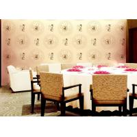Wholesale Chinese Works And Patterns Room Decoration Asian Inspired Wallpaper With PVC Material For Hotel from china suppliers