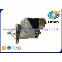 Quality ISO9001 Excavator Starter Motor For Isuzu Equipment 6bg1 Engine , High Power for sale