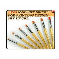 Wholesale Original Professional UV Gel Brush Nail Art Painting Draw Brush with Wood handle from china suppliers