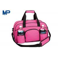 Wholesale Business Trip Camping Pink Color Cute Duffel Bags Heat Transfer Printing from china suppliers