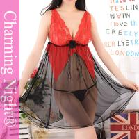 Wholesale Mature Woman Teen Girl Sexy Lingerie Nightwear , Lace Mesh Fetish sexy sleeping clothes from china suppliers