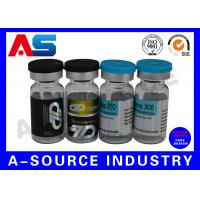 Wholesale Holographic 10ml Vial Labels Prescription Vial Label Printing 4C Full Color from china suppliers