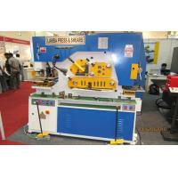 Wholesale Multi-Function Small Hydraulic Ironworker Machine for punching shearing from china suppliers
