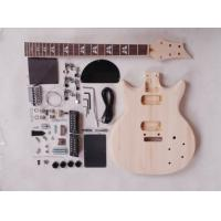 Wholesale 39 Inch 22 Fret Double Cutaway DIY Electric Guitar Kits With Maple Neck AG-DU3 from china suppliers