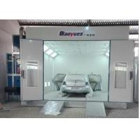 Wholesale Belt Drive Fan LED Lights Spray Systems Paint Booth Multi Functional 4.5 M Width from china suppliers