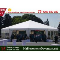 Wholesale Outdoor Pop Up Shelter Tent Double PVC Coated Polyster Fabric With Kitchen from china suppliers