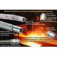 Buy cheap over Braided Flexible metal Conduit for metal working equipment wirings from wholesalers