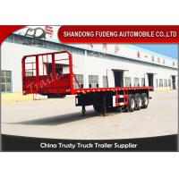 Wholesale 20 Ft 40 Ft 45 Feet Flatbed Semi Trailer Platform High Bed Trailers For Container Delivery from china suppliers