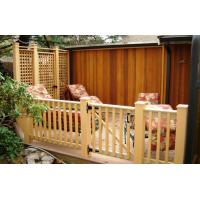 Wholesale Composite Decking and Railing system with privacy wall and door  600*420 from china suppliers