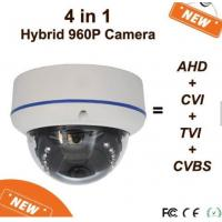 Wholesale Hybrid Vandalproof Dome Wide Angle Cctv Camera  4 In 1  Four Output Modes By OSD Menu from china suppliers