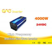 Wholesale 12v 24v Off Grid Single Output Rechargeable Modified Sinewave Inverter 4000w from china suppliers